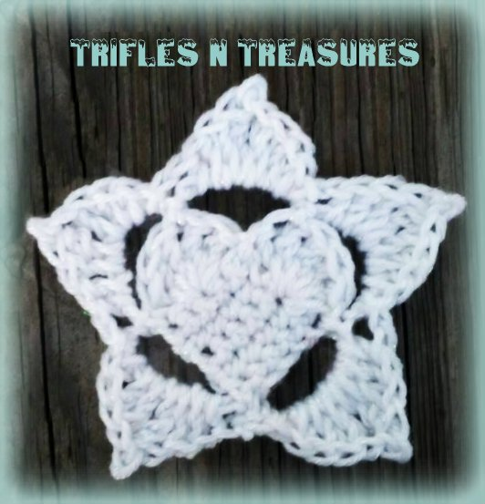 Frozen Hearts - Part 2 - Large Snowflake Applique ~ Tera Kulling - Trifles N Treasures