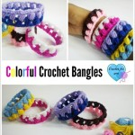 Colorful Crochet Bangles ~ Erangi Udeshika - Crochet For You