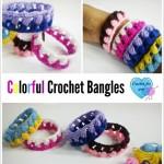 Colorful Crochet Bangles ~ Erangi Udeshika – Crochet For You