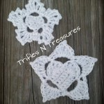 Frozen Hearts - Part 1 - Small Snowflake Applique ~ Tera Kulling - Trifles N Treasures