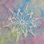 Gothic Daisy Snowflake ~ Snowcatcher