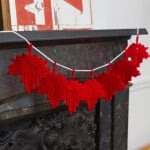 Maple Leaf Banner ~ Red Heart Yarns