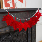 Maple Leaf Banner – Susan Badgley ~ Red Heart Yarns
