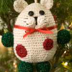 Kitty Ornament ~ Nancy Anderson – Red Heart