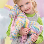 Enchanting Unicorn ~ Michele Wilcox - Red Heart Yarns