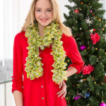 Extra-Ruffled Crochet Scarf ~ Bendy Carter – Red Heart Yarns