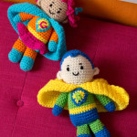 Boy and Girl Super Heroes ~ Michele Wilcox – Red Heart Yarns