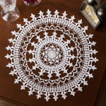 Affinity Doily ~ Kathryn A. White - Red Heart