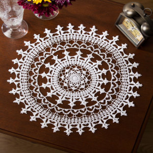 Crochet Doily Heart Pattern | Free Patterns For Crochet