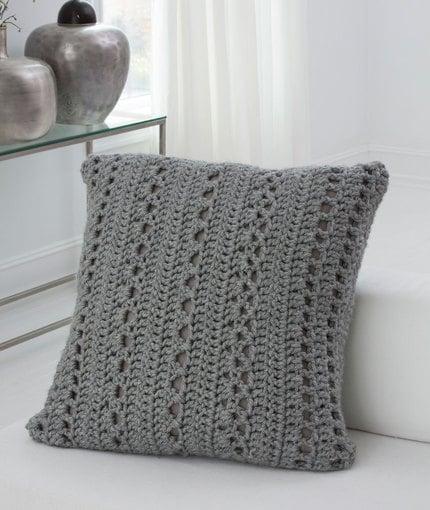 Big & Cozy Floor Pillow ~ Jessie Rayot - Red Heart