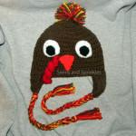 Gobble Gobble Turkey Hat ~ Swirls and Sprinkles