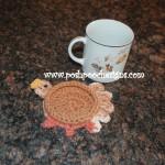 Turkey Coaster ~ Sara Sach – Posh Pooch Designs