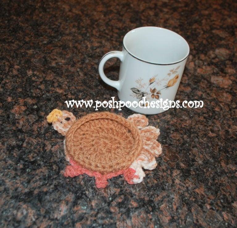 Turkey Coaster ~ Sara Sach - Posh Pooch Designs