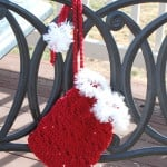 Christmas Sequin Gift Bag ~ Sara Sach - Posh Pooch Designs