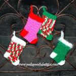 Mini Christmas Stockings ~ Sara Sach – Posh Pooch Designs