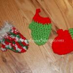 Mini Mitten Christmas Tree Ornaments ~ Sara Sach – Posh Pooch Designs