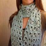 Frost Flower Scarf ~ Crochet is the Way