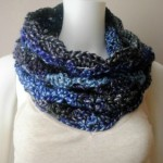 Sunset into Moonshadows Cowl ~ Cre8tion Crochet