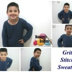 Grit Stitch Sweater ~ Meladora's Creations