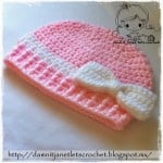 The Dania Beanie ~ Damn it Janet, Let's Crochet!