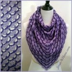 Lavender Blooms Shawl ~ Jessie At Home