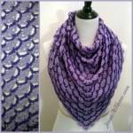 Lavender Blooms Shawl ~ Jessie At Home
