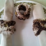 Fall Napkin Ring Revise ~ Crochet is the Way