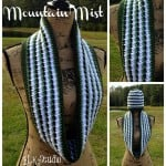 Mountain Mist Crochet Scarf ~ Kathy Lashley - ELK Studio