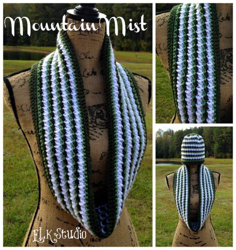 Mountain Mist Crochet Scarf ~ Kathy Lashley - ELK Studio