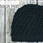 Mya's Little Black Hat ~ Oombawka Design