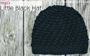 Mya's Little Black Hat ~ Oombawka Design