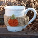 Pumpkin Mug Cozy ~ Amy Lynn Yarbrough – Crochet Spot