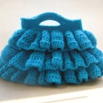 Bella Ruffled Bag ~ Crochet Dreamz
