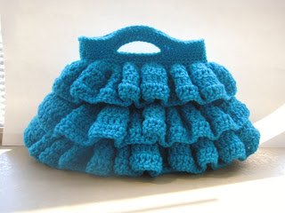 Bella Ruffled Bag ~ Crochet Dreamz
