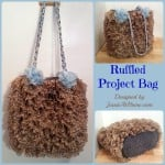 Ruffled Project Bag ~ Jessie At Home
