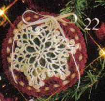 Christmas Sachet ~ MomsLoveOfCrochet