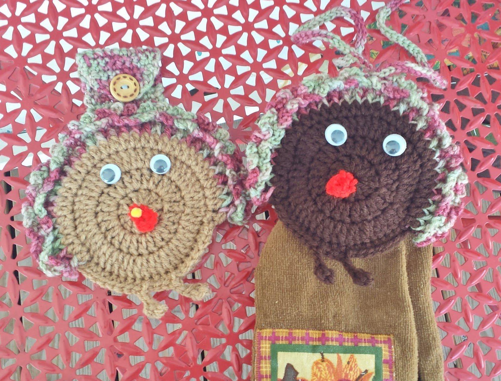 Turkey Gobble Towel Holder ~ DragonFlyMomof2 Designs