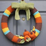 Crochet Fall Wreath ~ Repeat Crafter Me