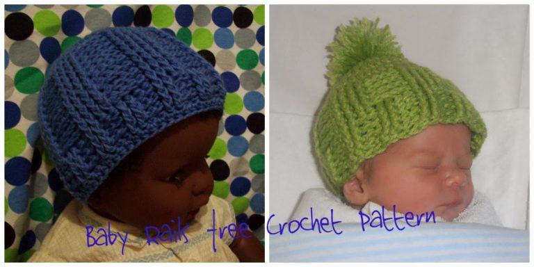 Baby Rails ~ Cats-Rockin-Crochet