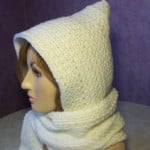 Beginner Hooded Scarf ~ Rhelena - CrochetN'Crafts