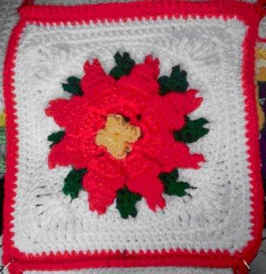 Bonnie's Poinsettia Afghan ~ Crochet 'N' More