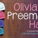 Olivia's Preemie Hat ~ Little Monkeys Crochet