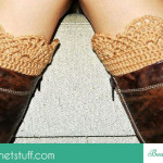 How to Crochet a Boot Cuff ~ Jane Green – Beautiful Crochet Stuff