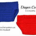 Crochet Diaper Cover – 0-3 Months ~ Crochet Treasures