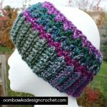 Joyful and Bright Winter Earwarmer ~ Oombawka Design - Skip to my Lou