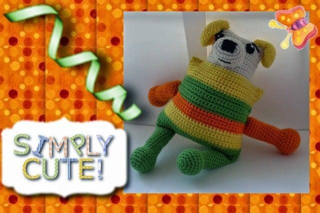 Funmigurumi Stripers: Tickler ~ Craftybegonia's Funmigurumi and Kids' Stuff