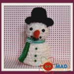 Snowman and Melting Snowman ~ Tina Le Page – Mad Crochet Lab