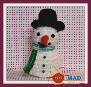 Snowman and Melting Snowman ~ Tina Le Page - Mad Crochet Lab