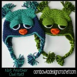 Not Another Owl Hat! – Toddler Size ~ Oombawka Design