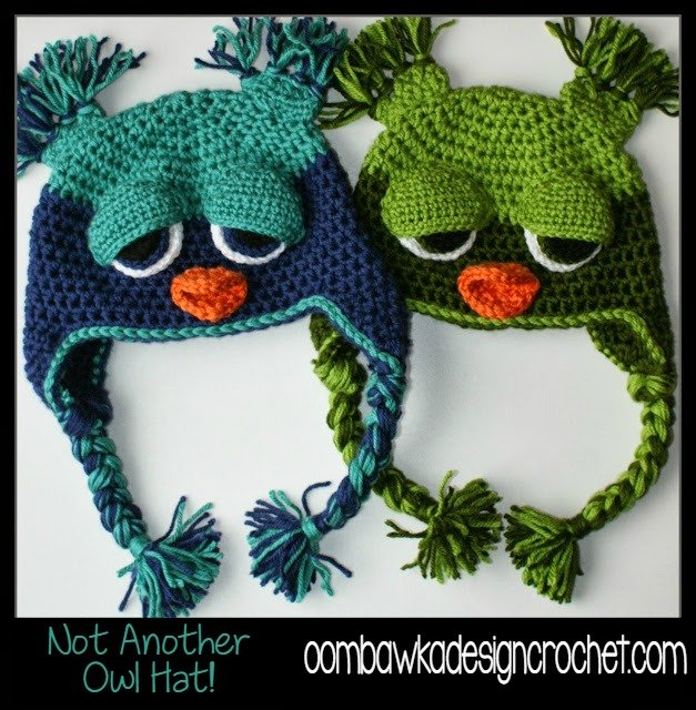 Not Another Owl Hat! - Toddler Size ~ Oombawka Design